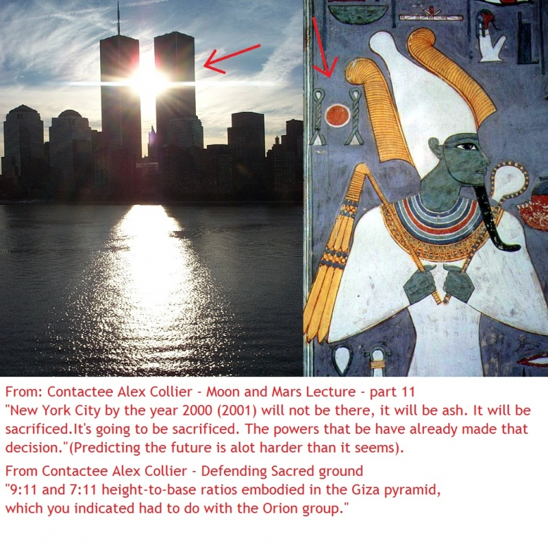 Evidence that the world trade center was SACRIFICED